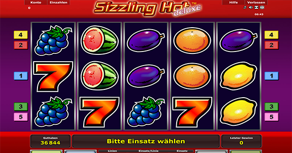 sizzling hot deluxe download für pc