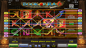 online casino roulette book of ra deluxe slot